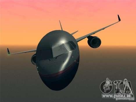 Boeing 757-200 United Airlines für GTA San Andreas