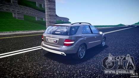 Mercedes-Benz ML 500 v1.0 pour GTA 4 est un côté