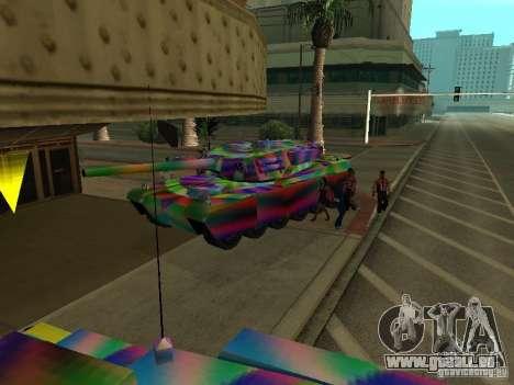 Eine fröhliche Farbe-tank für GTA San Andreas Innenansicht