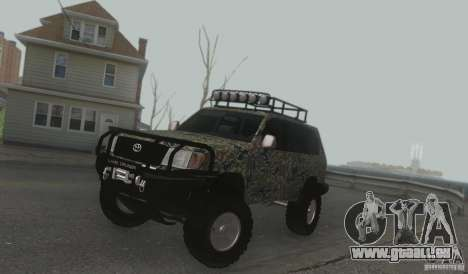 Toyota Land Cruiser 100 Off Road pour GTA San Andreas