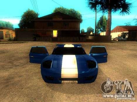Bullet GT Drift pour GTA San Andreas vue de droite