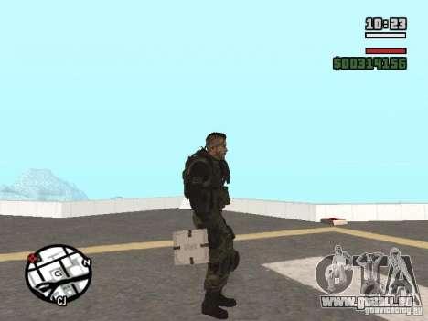 Les explosifs de cod mw2 pour GTA San Andreas deuxième écran