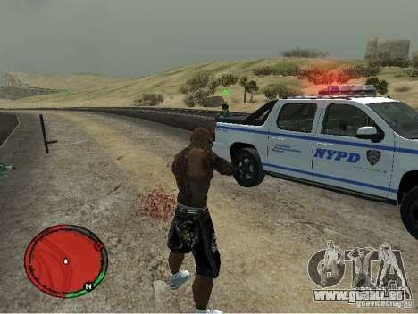 GTA IV HUD v1 by shama123 für GTA San Andreas dritten Screenshot