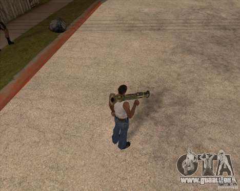 CoD:MW2 weapon pack pour GTA San Andreas