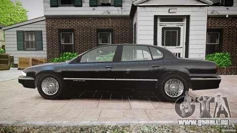 Chrysler New Yorker LHS 1994 für GTA 4 Rückansicht