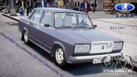 VAZ-2107 pour GTA 4