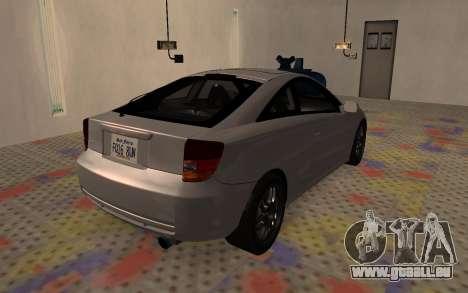 Toyota Celica 2JZ-GTE für GTA San Andreas linke Ansicht