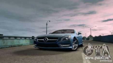 Mercedes-Benz SL 350 2013 v1.0 pour GTA 4 Vue arrière de la gauche