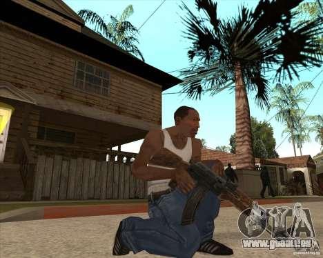 CoD:MW2 weapon pack pour GTA San Andreas quatrième écran