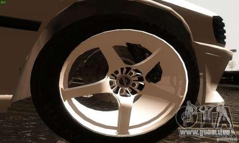 Mercedes-Benz 190E V2.0 für GTA San Andreas zurück linke Ansicht