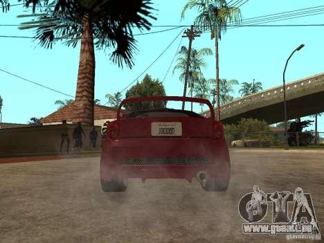 Toyota Celica Veilside für GTA San Andreas zurück linke Ansicht