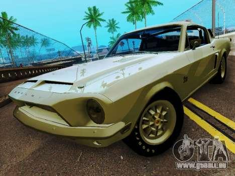 Shelby GT 500 KR pour GTA San Andreas