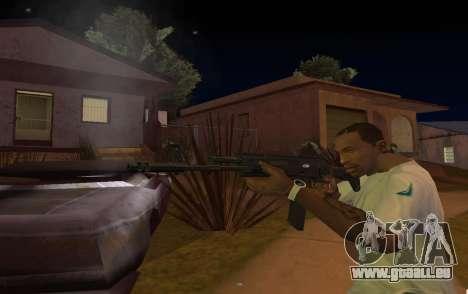 AK-12 pour GTA San Andreas troisième écran