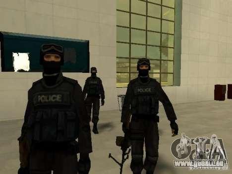 Aide Swat pour GTA San Andreas troisième écran