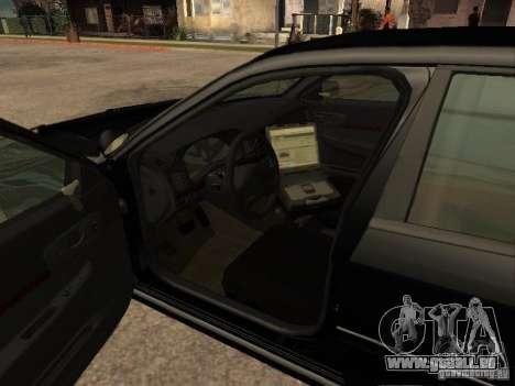 Chevrolet Impala Undercover pour GTA San Andreas sur la vue arrière gauche