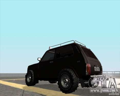 VAZ 21213 Offroad für GTA San Andreas linke Ansicht