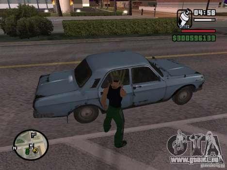 Repeindre de l'actionneur pour GTA San Andreas septième écran