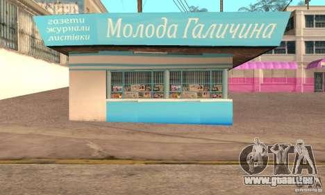 Kiosk Mod für GTA San Andreas