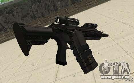 Carabine HK416 pour GTA San Andreas deuxième écran