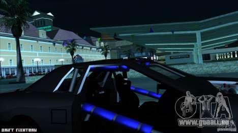 Elegy hard pour GTA San Andreas vue intérieure