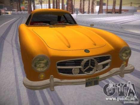 Mercedes-Benz 300SL für GTA San Andreas rechten Ansicht