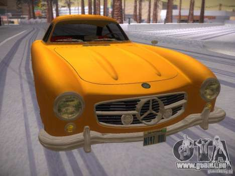 Mercedes-Benz 300SL pour GTA San Andreas vue de droite