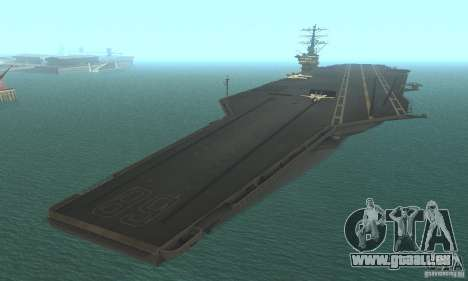 CVN-68 Nimitz pour GTA San Andreas