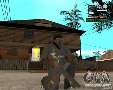 Hudra für GTA San Andreas