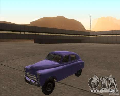 GAZ M72 pour GTA San Andreas