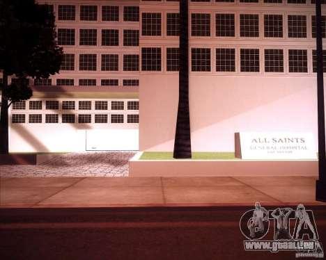 All Saints Hospital pour GTA San Andreas deuxième écran