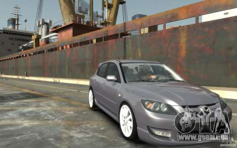 Mazda 3 pour GTA 4 Vue arrière