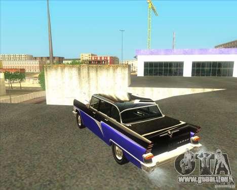 GAZ 13 Chaika pour GTA San Andreas laissé vue