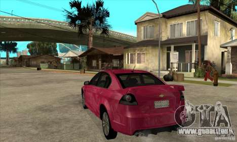 Chevrolet Lumina SS pour GTA San Andreas sur la vue arrière gauche