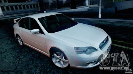 Subaru Legacy 2004 v1.0 pour GTA San Andreas roue