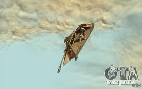 T-47 Snowspeeder pour GTA San Andreas vue de droite