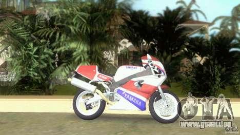 Yamaha FZR 750 original plain pour une vue GTA Vice City de la gauche