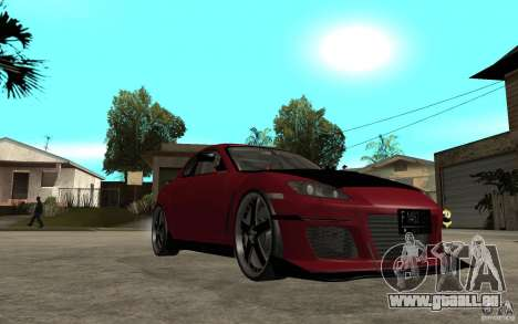Mazda RX-8 Time Attack JDM pour GTA San Andreas vue arrière