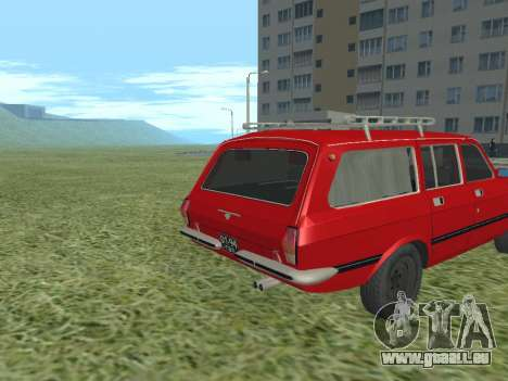 Volga GAZ-24 02 für GTA San Andreas rechten Ansicht