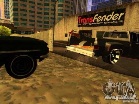 Chevrolet Silverado Towtruck für GTA San Andreas Seitenansicht