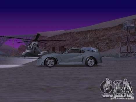Toyota Supra für GTA San Andreas linke Ansicht