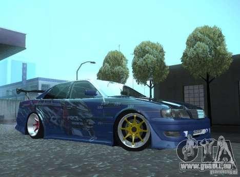 Toyota Chaser JZX100 Weld pour GTA San Andreas laissé vue