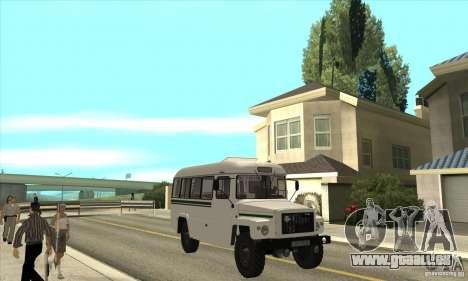 KAVZ-39766 für GTA San Andreas Rückansicht