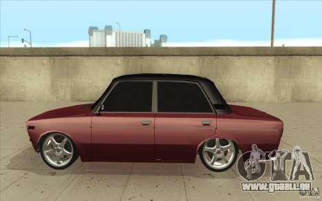 Lada VAZ 2106 pour GTA San Andreas laissé vue