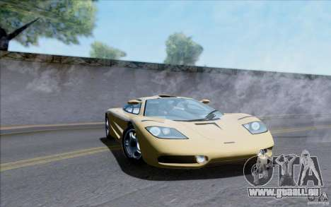 McLaren F1 Clinic 1992 für GTA San Andreas rechten Ansicht