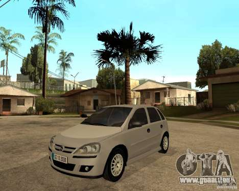 Opel Corsa C pour GTA San Andreas