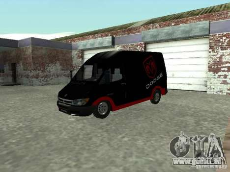 Dodge Sprinter Van 2500 pour GTA San Andreas