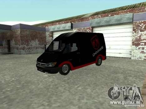 Dodge Sprinter Van 2500 für GTA San Andreas