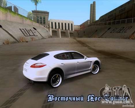 Porsche Panamera 970 Hamann pour GTA San Andreas vue de côté