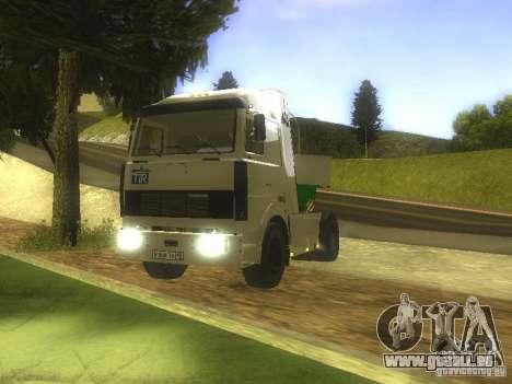 MAZ-5432-Turbo für GTA San Andreas