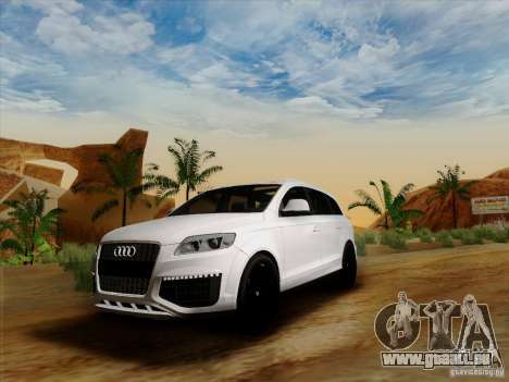 Audi Q7 2010 pour GTA San Andreas